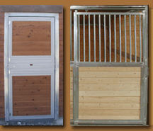 Stall Doors & Custom Grill Work
