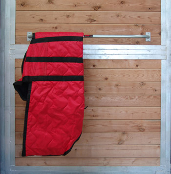 Blanket Bar Mount On Stall Wall Or Any Flat Surface