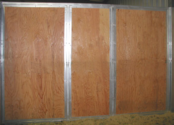 Square Tube Divider Solid Plywood