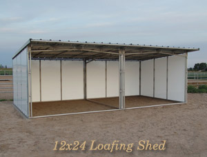 Noble Panels Loafing Sheds Horse Shelters