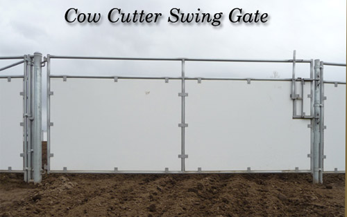 Cow Cutter Swing Gate