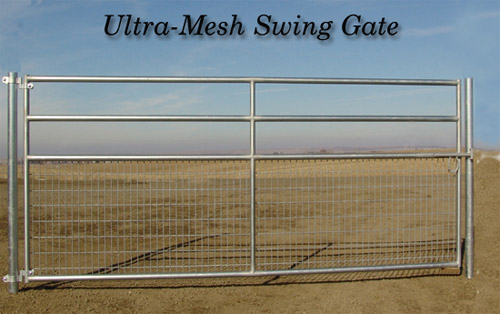 Ultra-Mesh Swing Gate