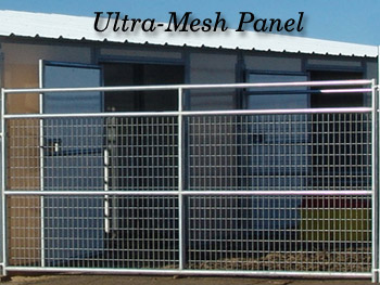Noble Panels Ultra Mesh Fencing Panels