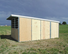 Noble Panels - Horse Shelters and Loafing Sheds