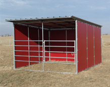 Noble Panels Horse Shelters And Loafing Sheds