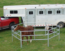 Silver Drifter Portable Corral System