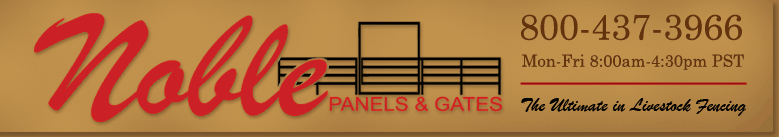 Noble Panels & Gates - Horse Fencing Panels.