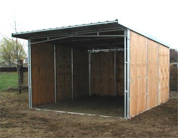 Noble Panels - Solid Side Horse Shelter