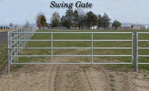 Noble Panels Swing Gates And Double Drive Gates