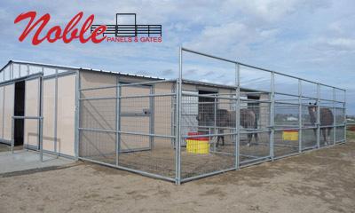40lg 1m² pferdepaddock Horse Stable Pferdebox Paddock Dog Enclosure Riding Space